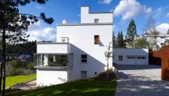"""Die Villa Münz. Ein Parade-Beispiel für das """"Weiße Brünn""""."""