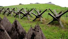 Der Tschechische Wall. Zeugnis jüngerer Geschichte