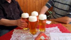 Ostrauer Bier, das Wichtigste nach der Wanderung