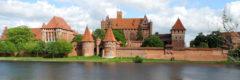 Die Marienburg. Ein Symbol der Macht, aber auch der Kultur des Deutschen Ritterordens.