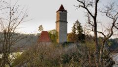 Böhmische Geschichte: Burg Zvíkov am Zusammenfluss von Moldau und Otava