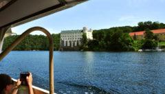 Schiffsausflug zu Schloss Orlik