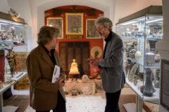 Museums-Erschaffer im Gespräch: Reinhold Messner zu Besuch bei Peter Coreth im Museum Humanum