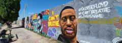 """Neue Graffiti an der """"Mauerpark-Wall"""""""