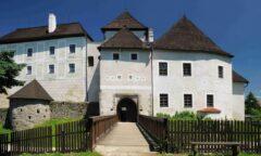 Burg in Nové Hrady/Gratzen