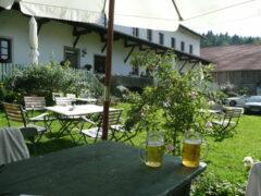 """Biergarten am Einödhof """"Waldeck"""""""