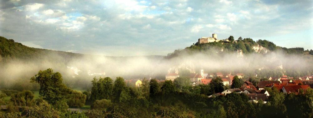 Das Städtchen Kallmünz ist einer der schönsten Orte Bayerns