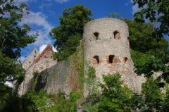 Burg Pappenheim, majestätische Dominante der Perle an der Altmühl