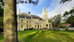 Das alte Herrenhaus von Rybokarty, unser hinterpommer´sches Glück
