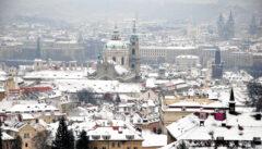 Überwältigend: Der Blick vom Hradschin auf Kleinseite und Altstadt
