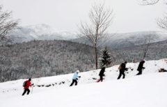 Schneeschuhwandern: Meditation der Langsamkeit