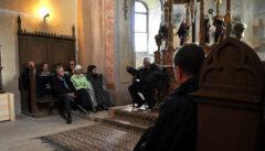 Zu Besuch in Rothberg bei Pfarrer Eginald Schlattner