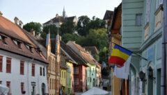 Schäßburg, eine der schönsten Städte Rumäniens