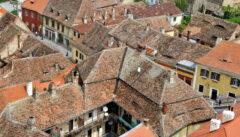 Solche Dachlandschaften werden in Europa immer seltener