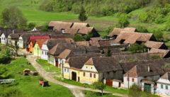 Trapold, ein typisches siebenbürgisches Dorf