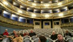 Ein Höhepunkt unserer Reise: der Besuch des authentisch erhaltenen Ständetheaters
