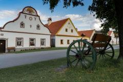 Häuser von Holašovice gehören zum UNESCO-Weltkulturerbe