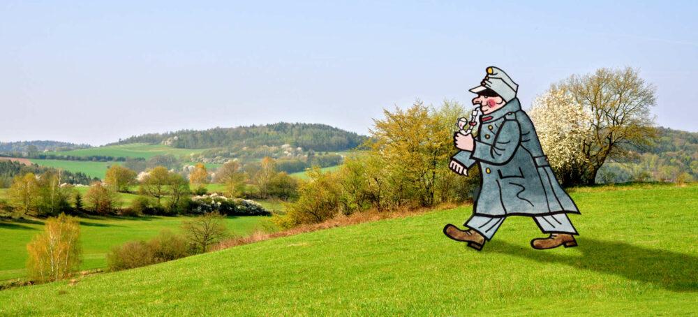 Der brave Soldat Svejk auf der unermüdlichen Suche nach seiner Kompanie