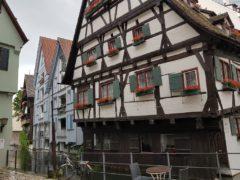 Ulm Schiefes Haus