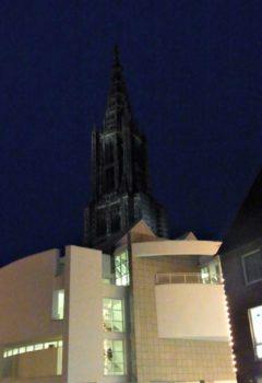 Ulm in der Nacht