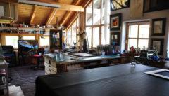 Das Atelier des Malers Herbert Muckenschnabl