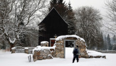 Winter in Böhmen: verschwundenes Hurkenthal