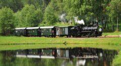 Schmalspurbahn durchs Waldviertel