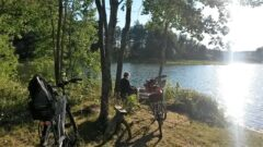 Kein Tag ohne schöne Pausenmöglichkeit an einem See