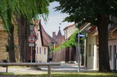 Gassen in der Altstadt von Weißenburg