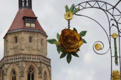 Turm von Andreaskirche in Weißenburg