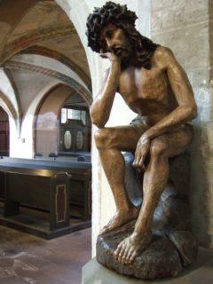 Franziskanerkirche Görlitz - Christus in der Rast 16.Jh