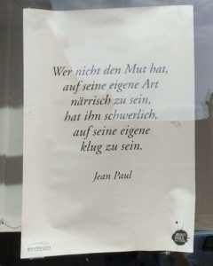 Jean Pauls Weisheit